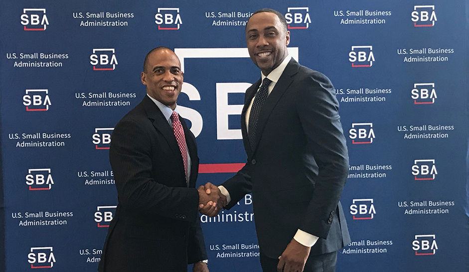 Executive Director Turner and SBA Regional Administrator Ashley Bell attend an Opportunity Zones event in Clayton County, Georgia