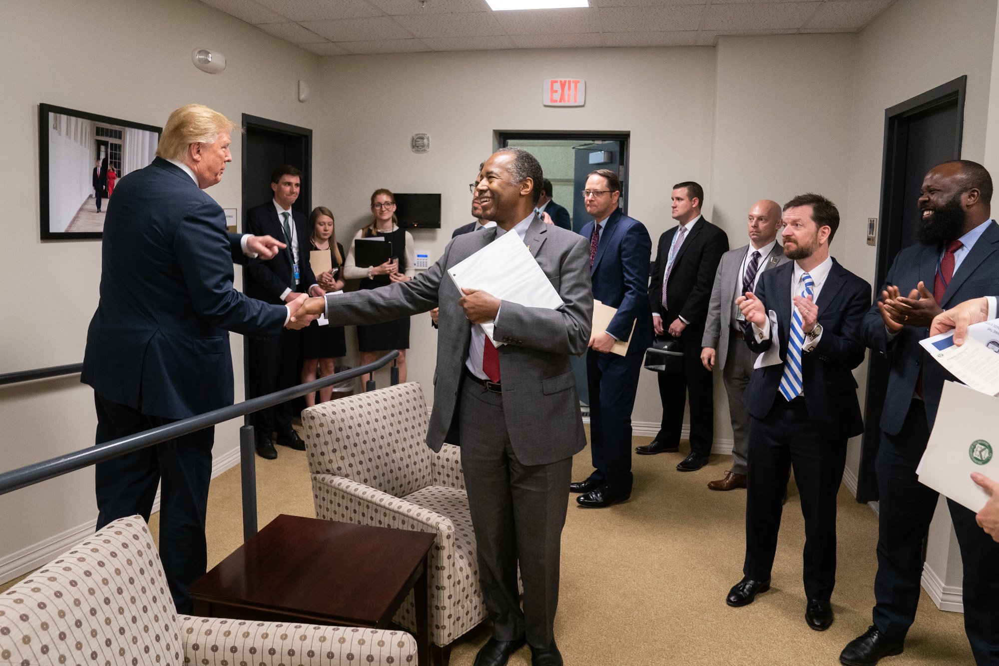 President Trump and Secretary Carson at an Opportunity Zones event