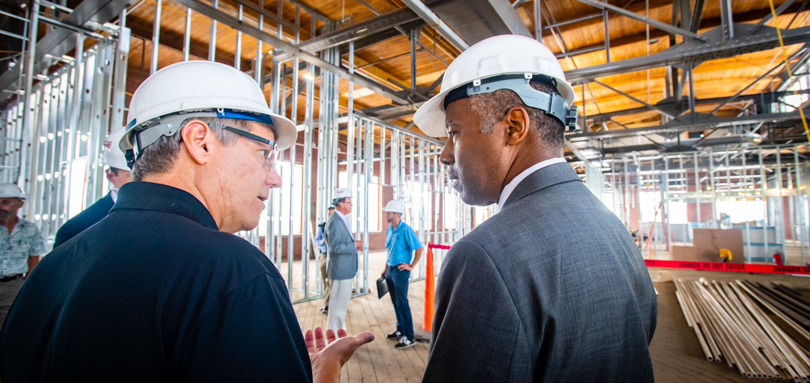 Secretary Carson visits an Opportunity Zone in Indianapolis, IN