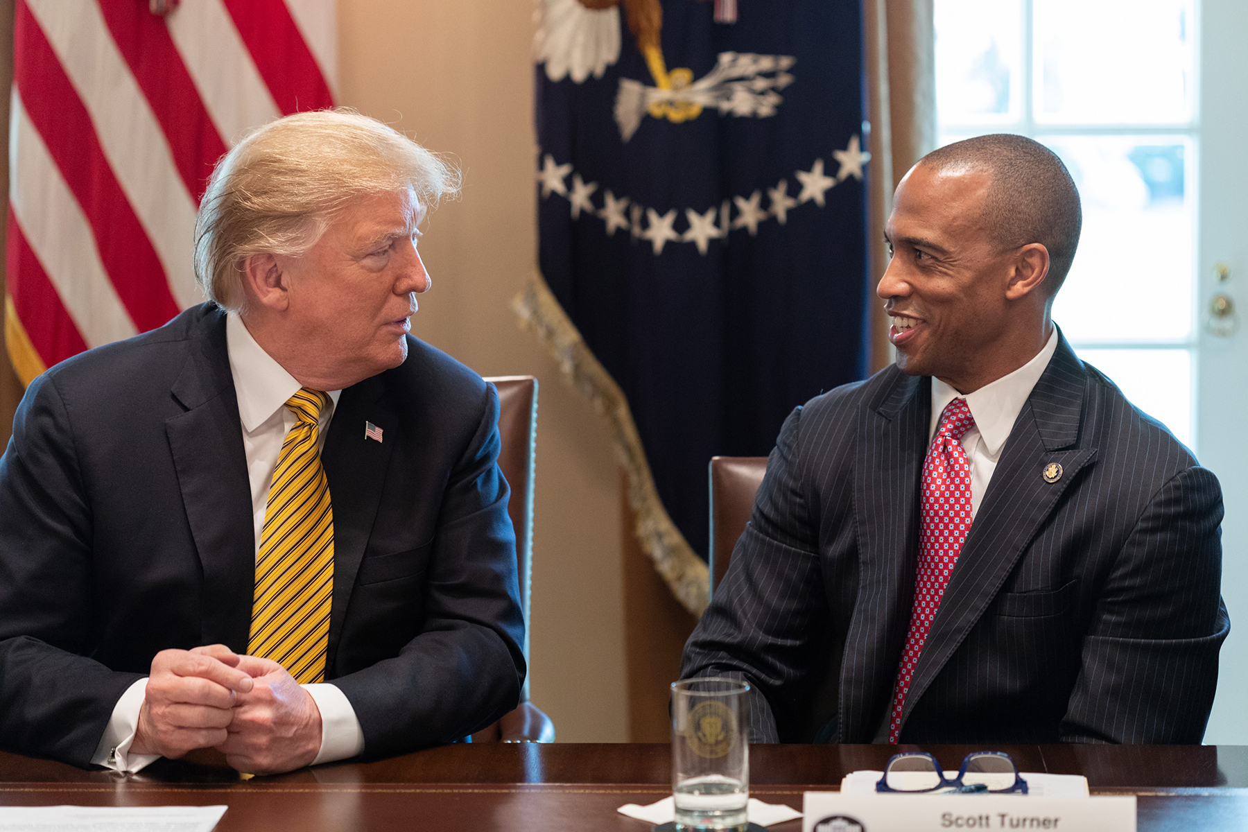 President Trump introduces Scott Turner as the Executive Director of the White House Opportunity and Revitalization Council