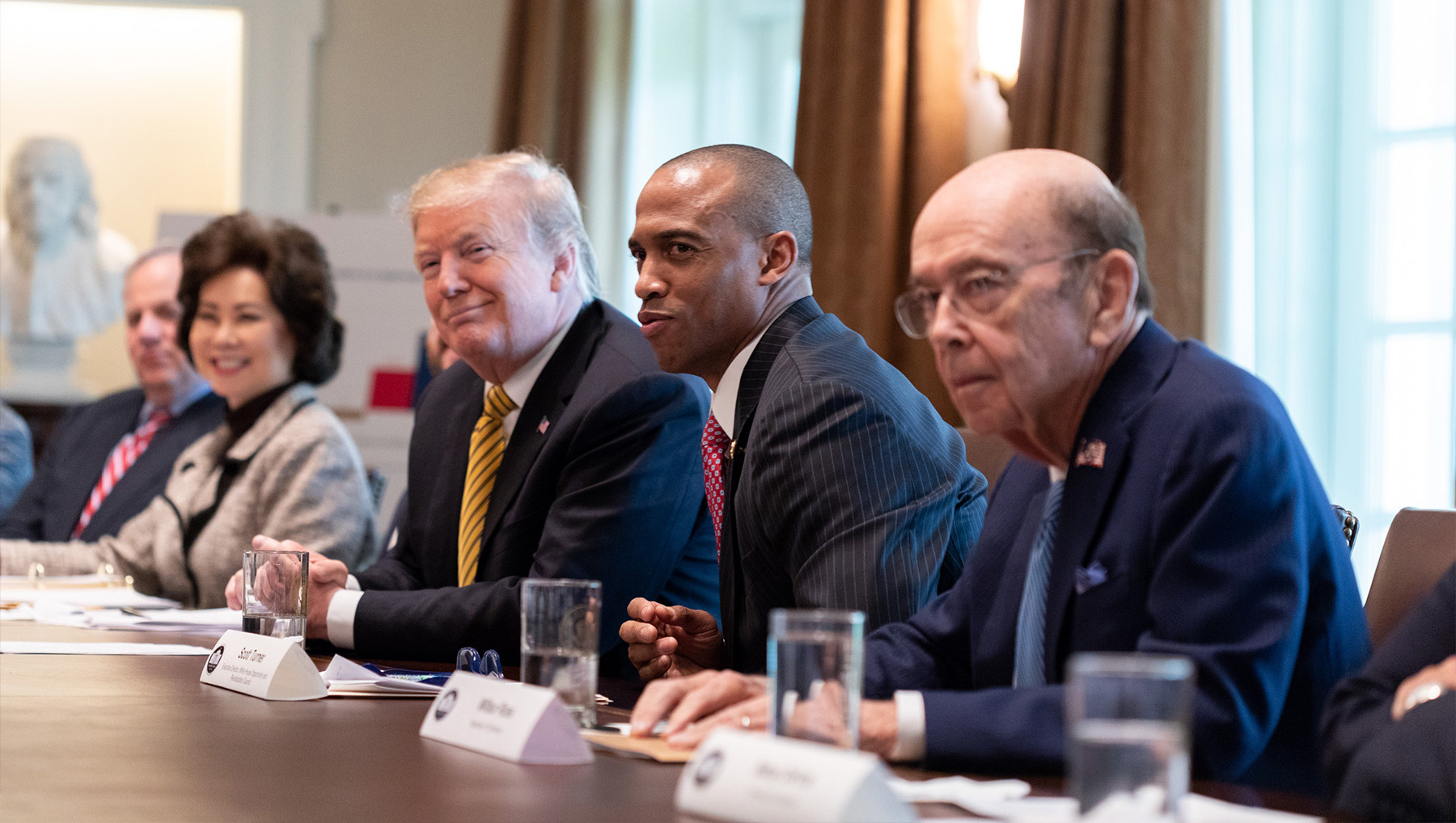 President Trump leads a meeting on Opportunity Zones