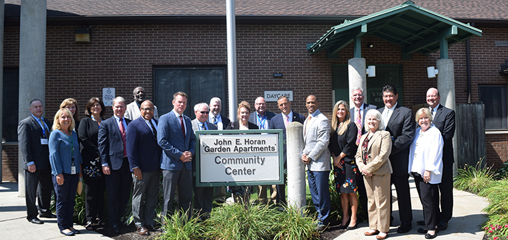 Members of the White House Opportunity and Revitalization Council visit with community leaders in Erie, PA