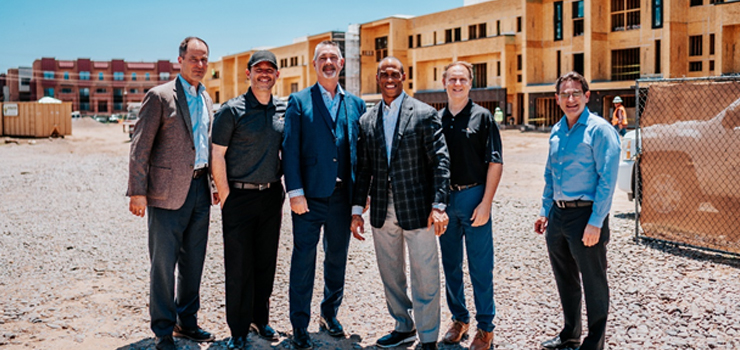 Executive Director Turner tours Arizona Opportunity Zone developments