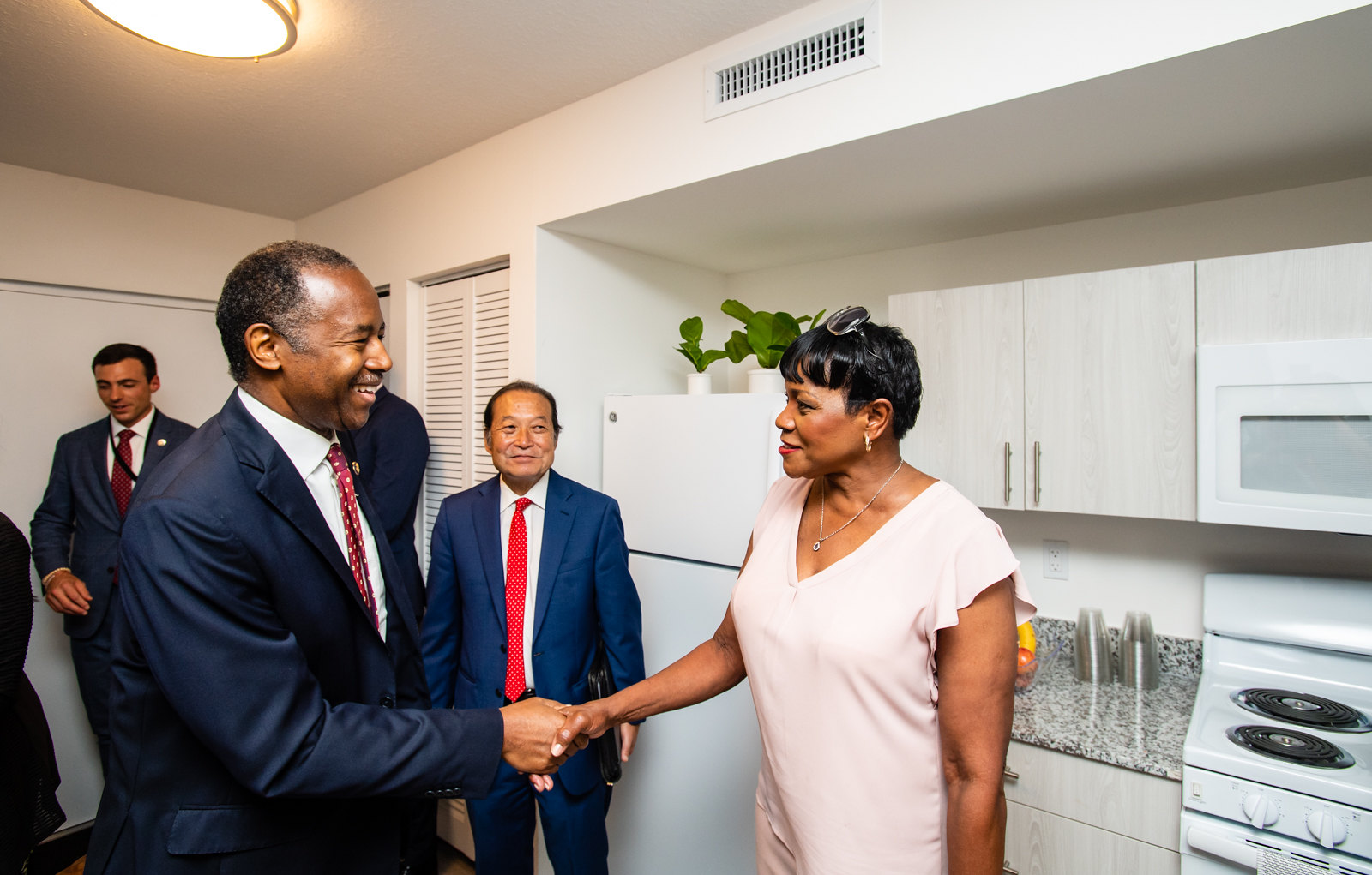 Community residents welcome Secretary Carson as he visits Opportunity Zones in Miami, FL
