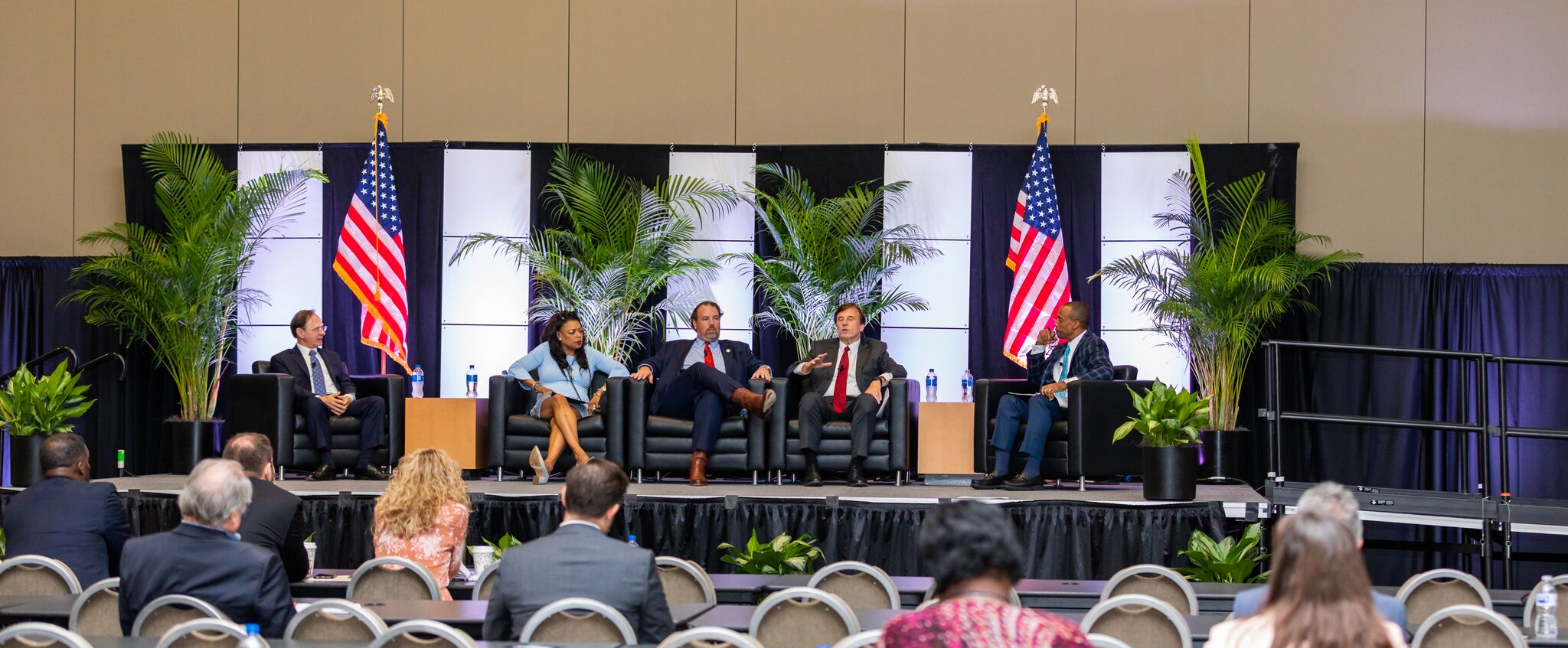 Executive Director Turner moderates a panel on Opportunity Zones in the Southeast region