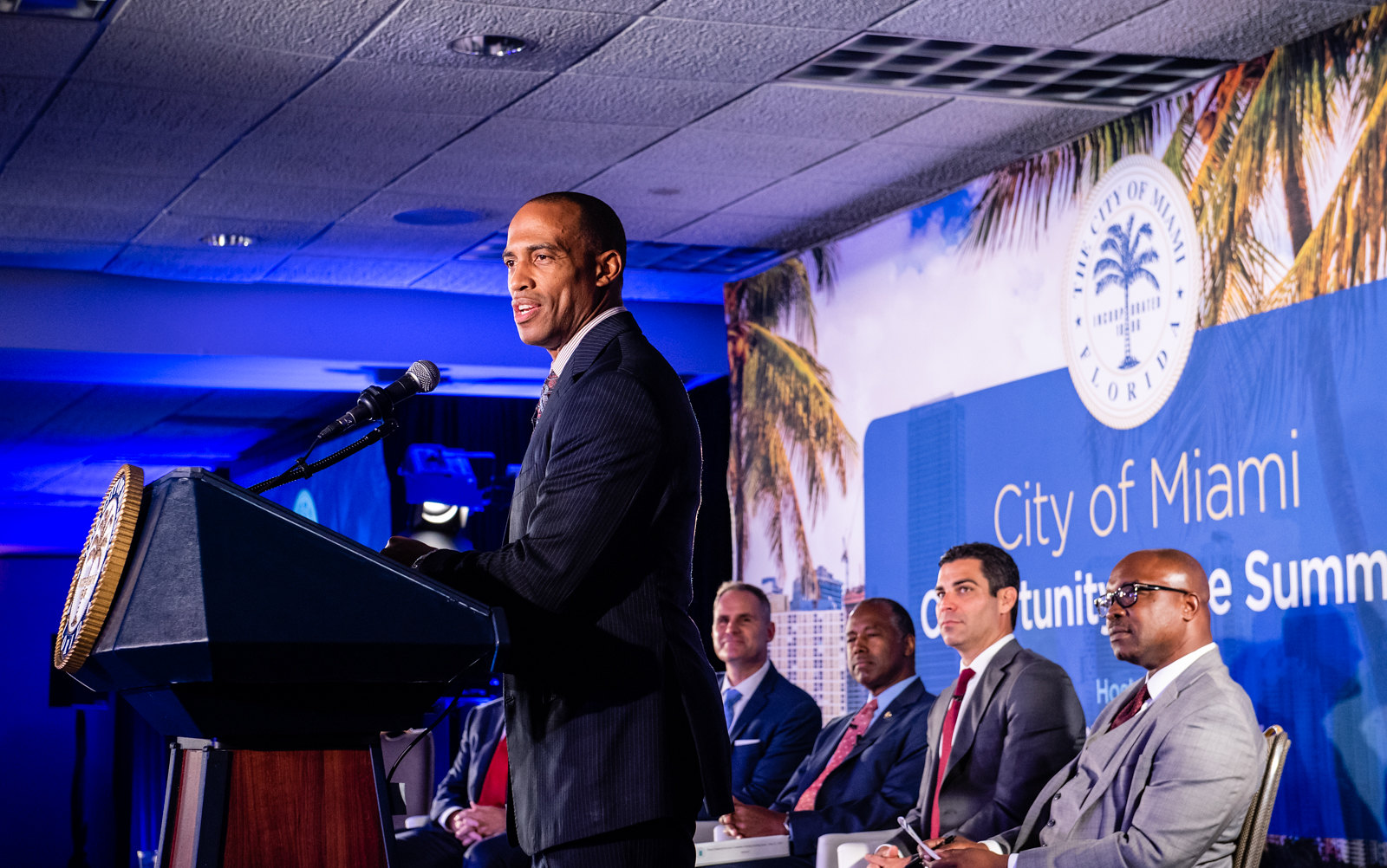 Executive Director Turner joins the City of Miami's Opportunity Zone Summit