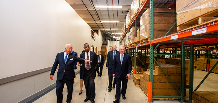 Secretary Carson visits Welfare Square in a Salt Lake City, UT, Opportunity Zone