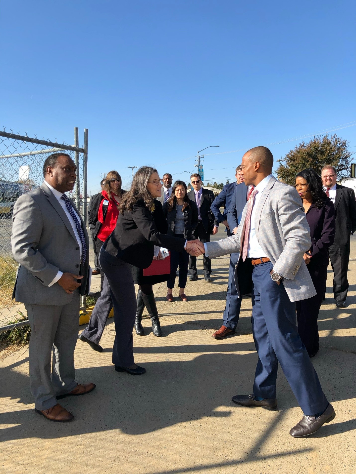 Executive Director Turner meets with Opportunity Zone leaders in Sacramento